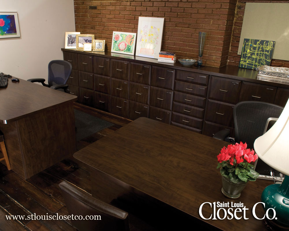 Saint Louis Closet Co. Offers Everything From A Small Work Surface To A  Full Blown Home Office. Free Estimates Allow You To Visualize The Finished  Space And ...