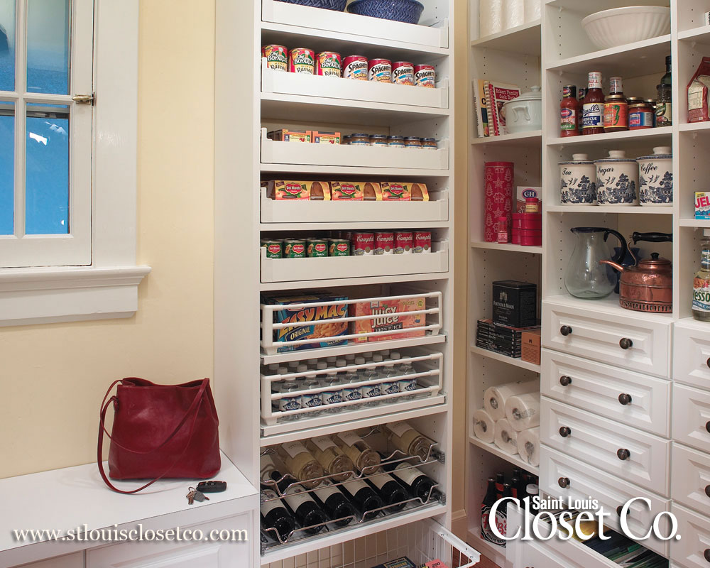 New Spaces Pantry Closet Design Saint Louis Closet Co