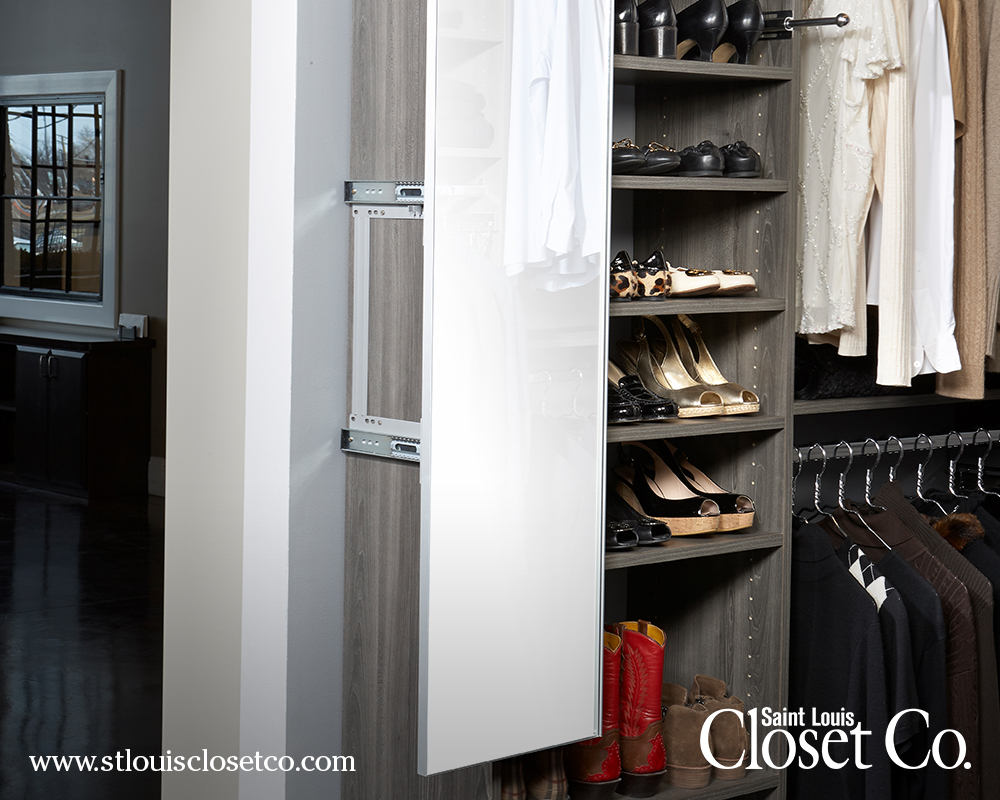 Pull Out Mirrors. Categories: Closets