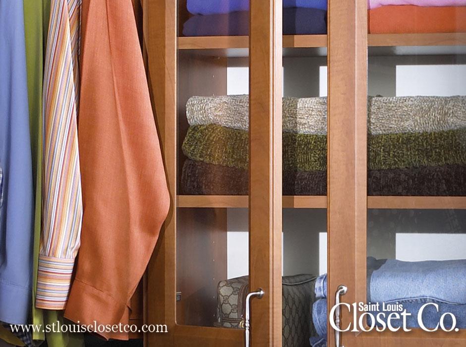 St. Louis Closet Co. Glass Doors