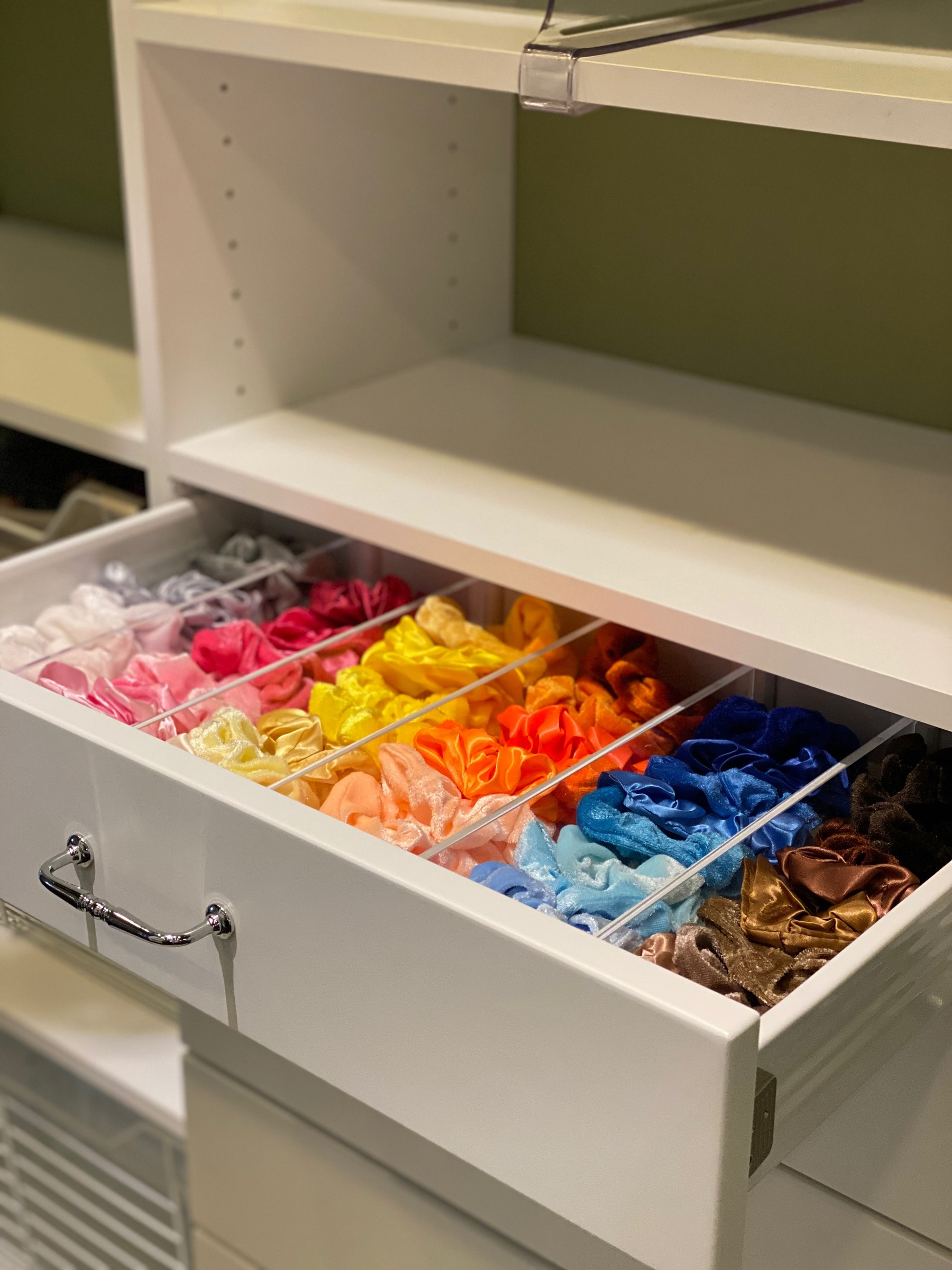 drawer for scrunchies