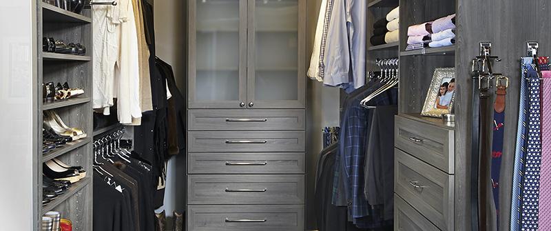 St Louis Closet Co slate closet