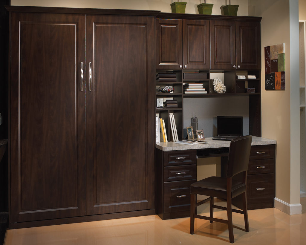 Murphy Bed Closed with Desk