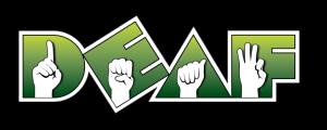 DEAF, Inc. logo